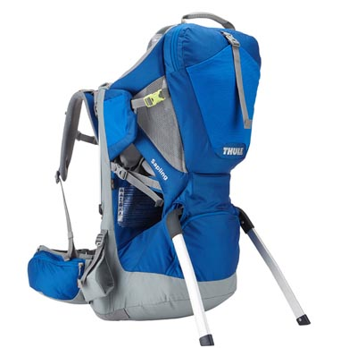 Thule Sapling frame child carrier for hiking and backpacking