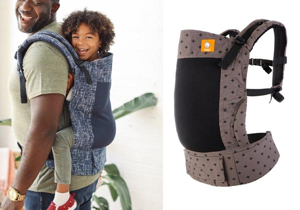 Toddler tula carrier for hiking