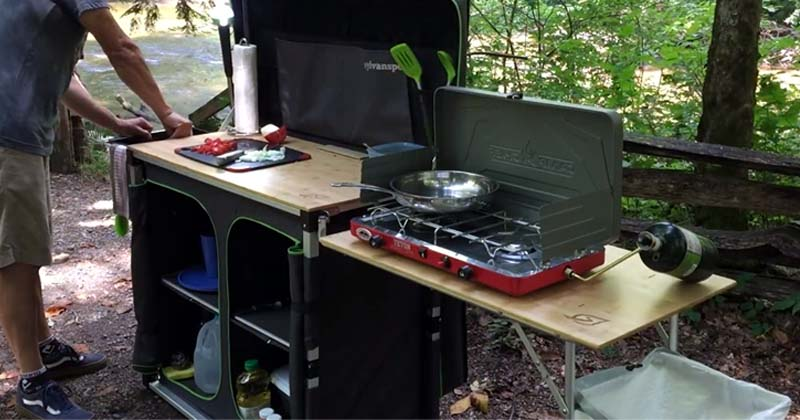 Best Portable Camping Kitchens Mom Goes Camping