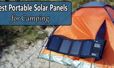 best portable solar panels camping