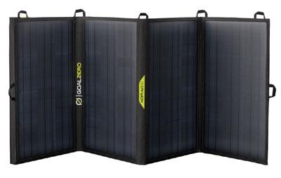 Goal Zero Nomad solar panels for camping