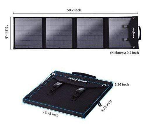 rockpals 60w solar panel
