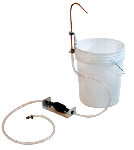 Tye Works portable camp sink with pump