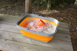 UST Collapsible camp sink