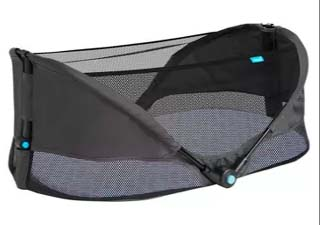 Brica portable baby bassinet for camping