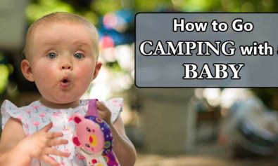 camping with a baby