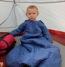 camping with baby