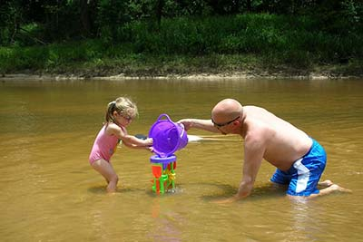 camping water toys