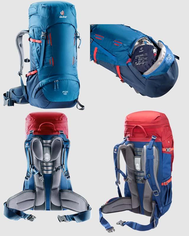 Deuter Fox 40 kids backpacking pack