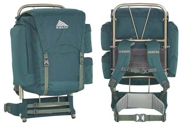 Kelty Sanitas external frame youth backpack