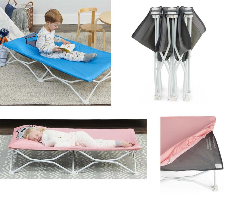 regalo toddler cot for camping my pals