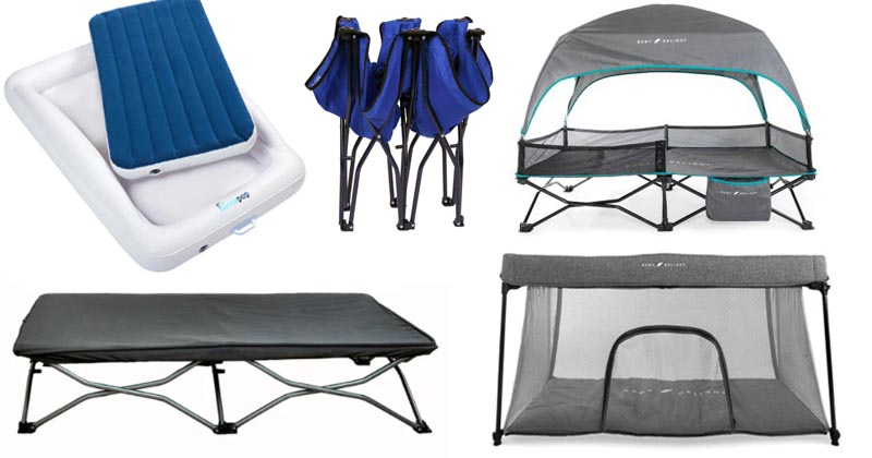 best toddler camping beds