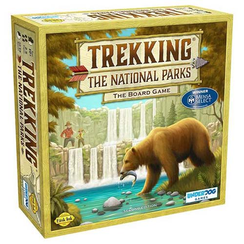 trekking the national parks board game for camping
