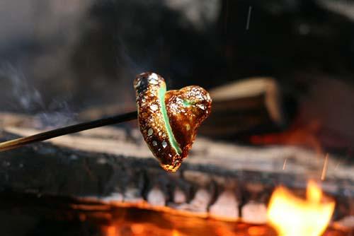 campfire roasted peeps