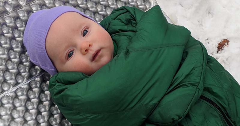 tips for camping with a newborn