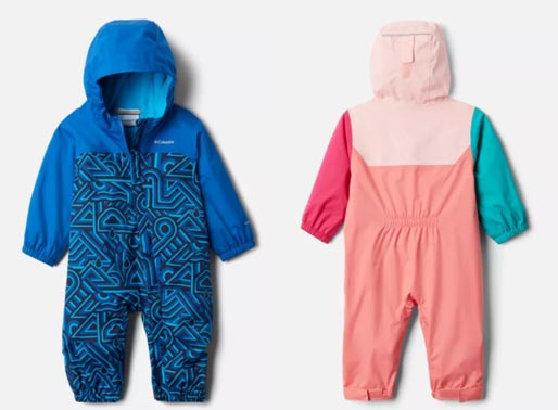 Columbia Infant Critter Jitters Rain Suit