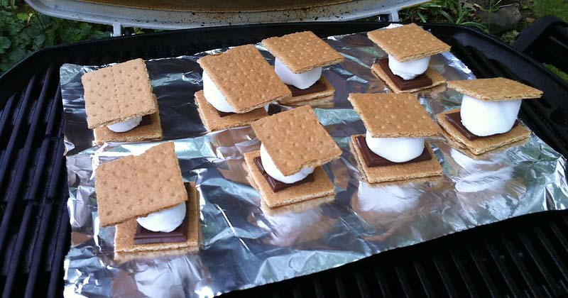 make smores without a roasting stick