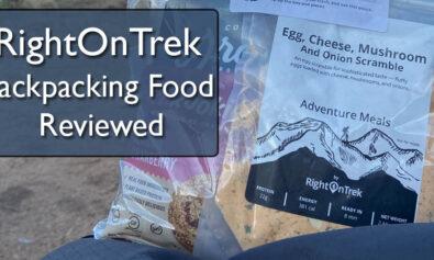 RightOnTrek backpacking food review