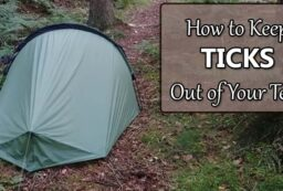 keep ticks out of tent