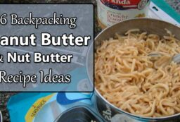 peanut butter backpacking meal ideas