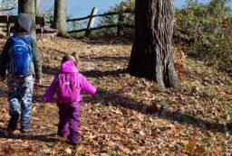 when can kids carry their own backpack hiking
